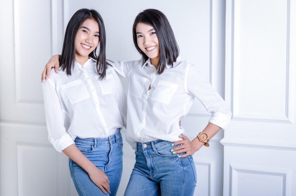 Фотосессия близняшек