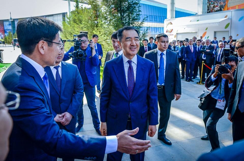 Открытие павильона НАК КазАтомПром на ЭКСПО 2017